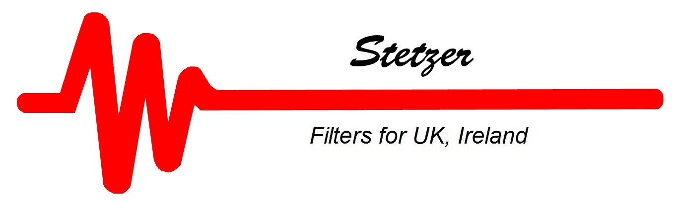 Supplying Stetzer Filters to  the UK and Ireland